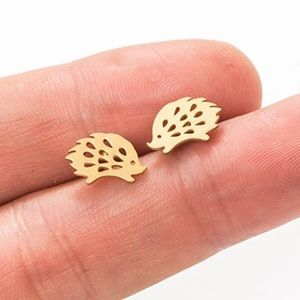 🦔Hedgehog Stainless Steel Minimalist Stud Earring